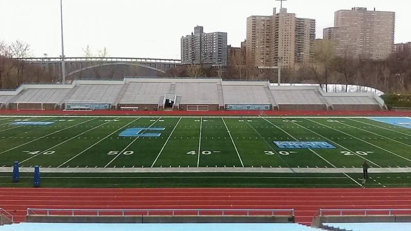 Seating view for Robert K. Kraft Field Section E Row Z Seat 15