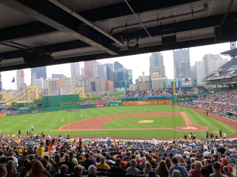 PNC Park, section: 120, row: HH, seat: 2