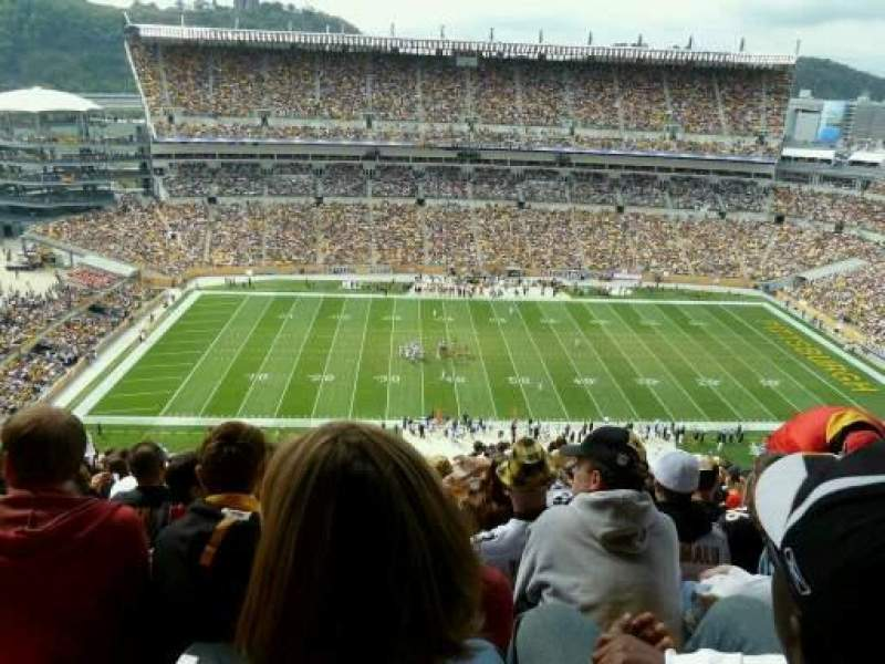 Seating view for Heinz Field Section 509 Row aa