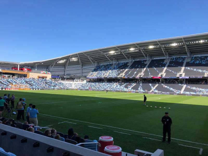 Seating view for Allianz Field Section 30 Row 6 Seat 9