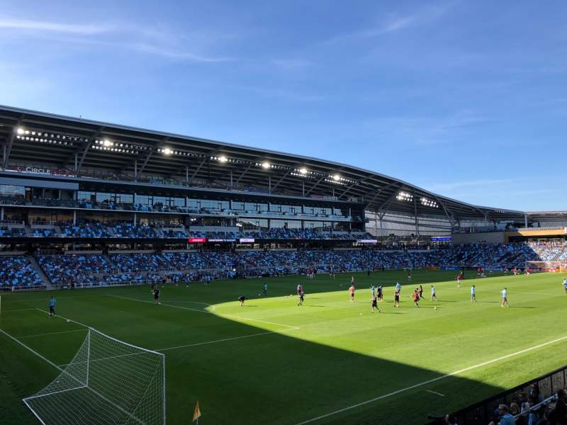 Seating view for Allianz Field Section 18 Row 6 Seat 11