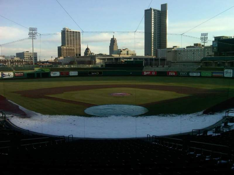 Seating view for Parkview Field