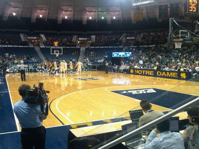 Seating view for Joyce Center Section 6