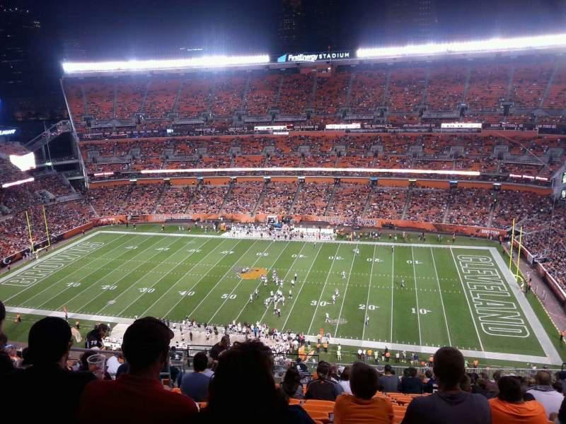 FirstEnergy Stadium, section: 536, row: 22, seat: 7