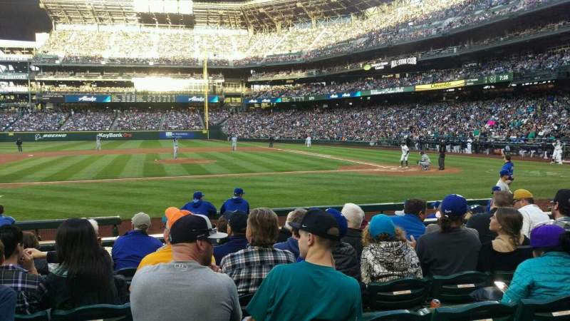 Seating view for Safeco Field Section 137 Row 11 Seat 9