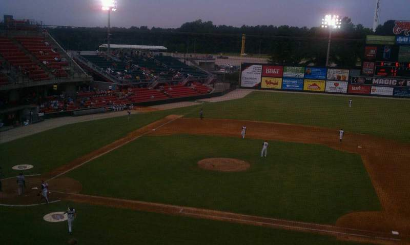 Seating view for Five County Stadium Section 205 Row M Seat 15