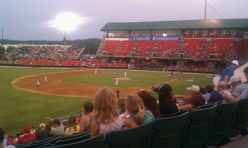 Seating view for Five County Stadium Section GA