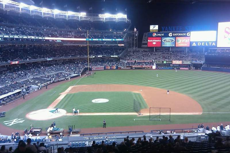 Seating view for Yankee Stadium Section 216 Row 20 Seat 6