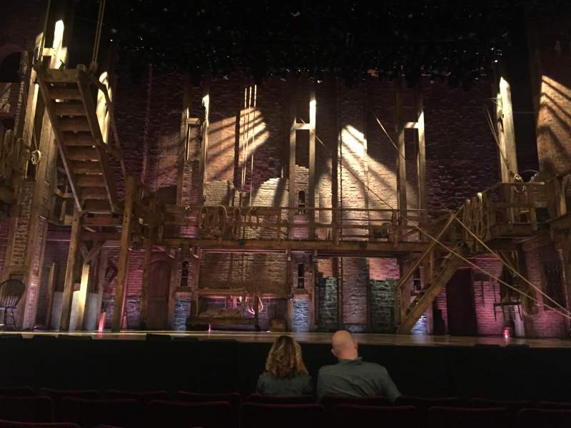 Seating view for Richard Rodgers Theatre Section orchestra Row E Seat 108
