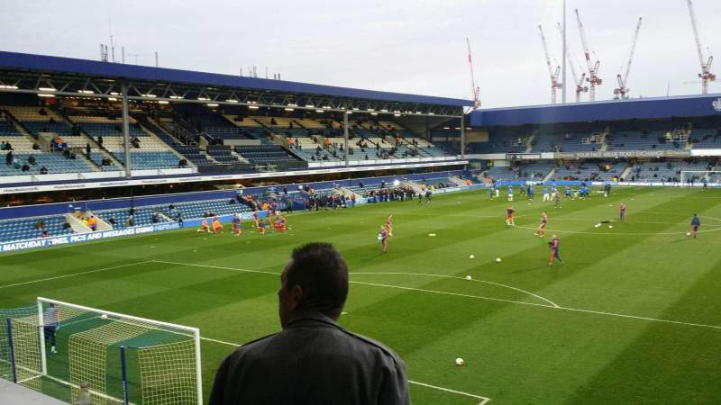 Seating view for Loftus Road Section y5 Row c Seat 92