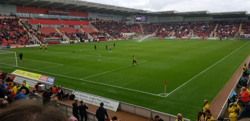 Seating view for New York Stadium Section sse1 Row m Seat 13