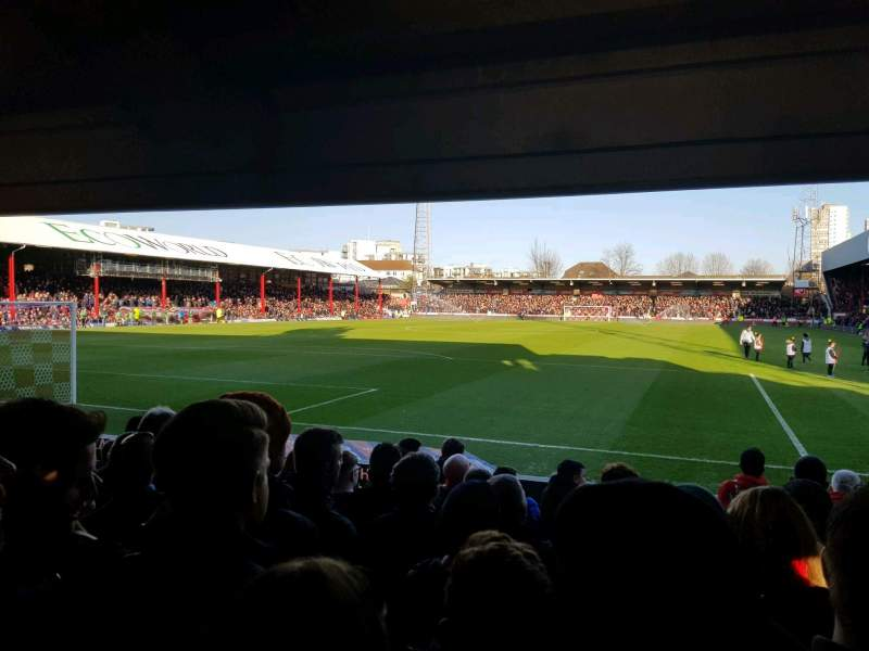 Seating view for Griffin Park