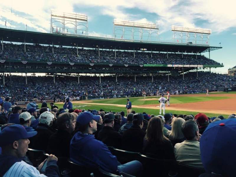 Seating view for Wrigley Field Section 27 Row 13 Seat 7