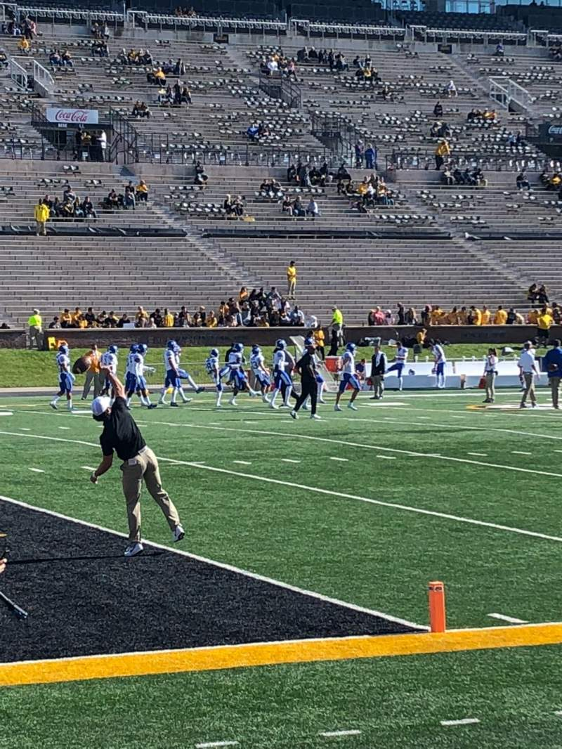 Seating view for Faurot Field Section 116 Row 2 Seat 1