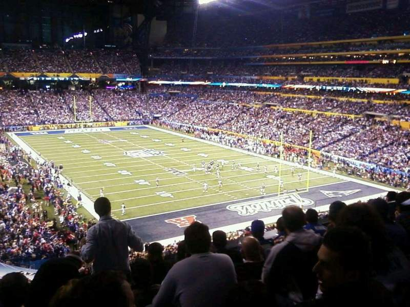 Seating view for Lucas Oil Stadium Section 331