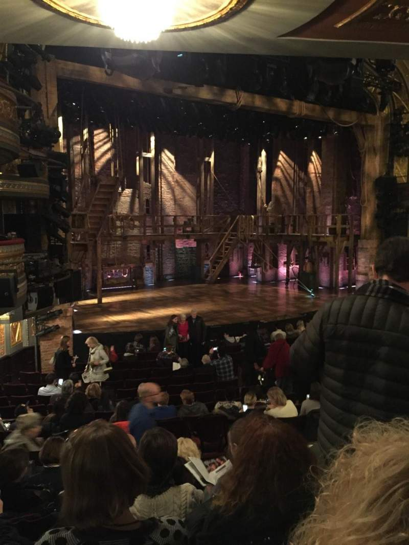 Seating view for Richard Rodgers Theatre Section Orchestra L Row Q Seat 25