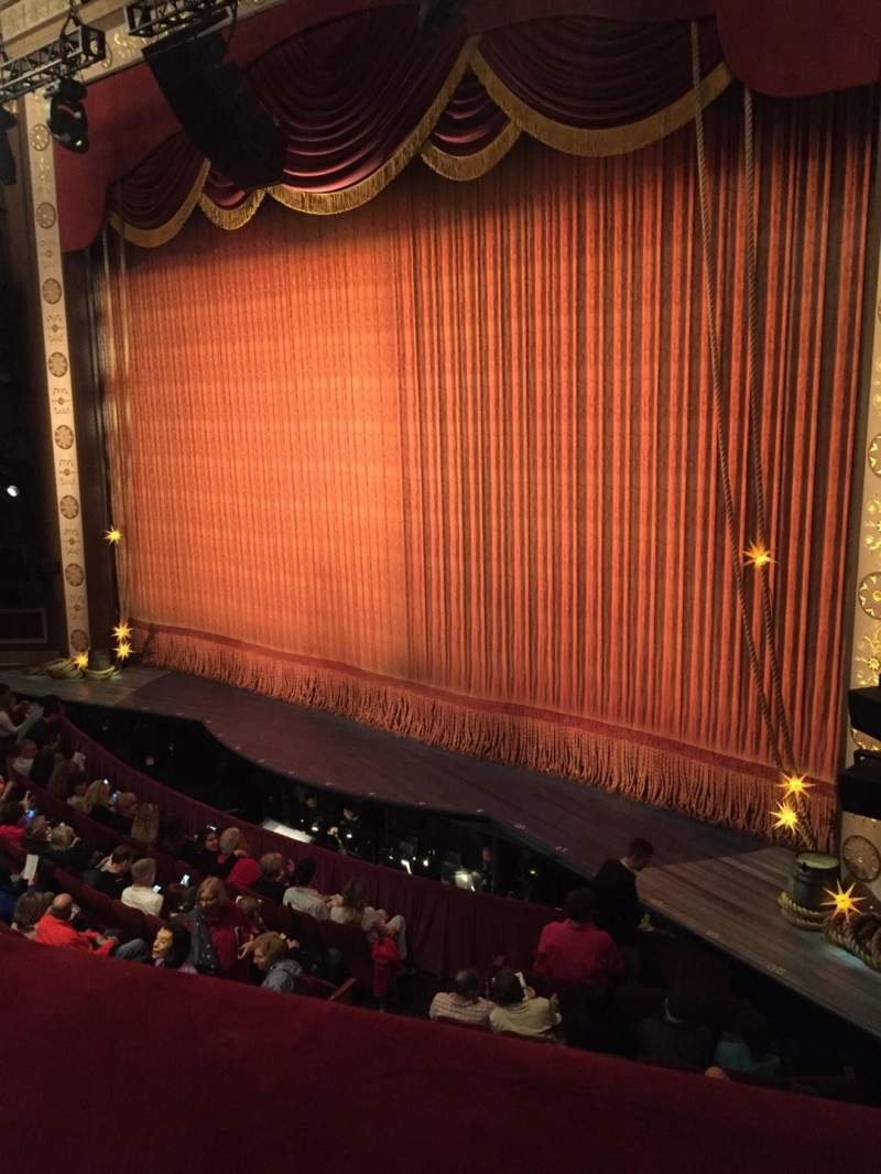 Seating view for Imperial Theatre Section Front Mezzanine 1 Row A Seat 5