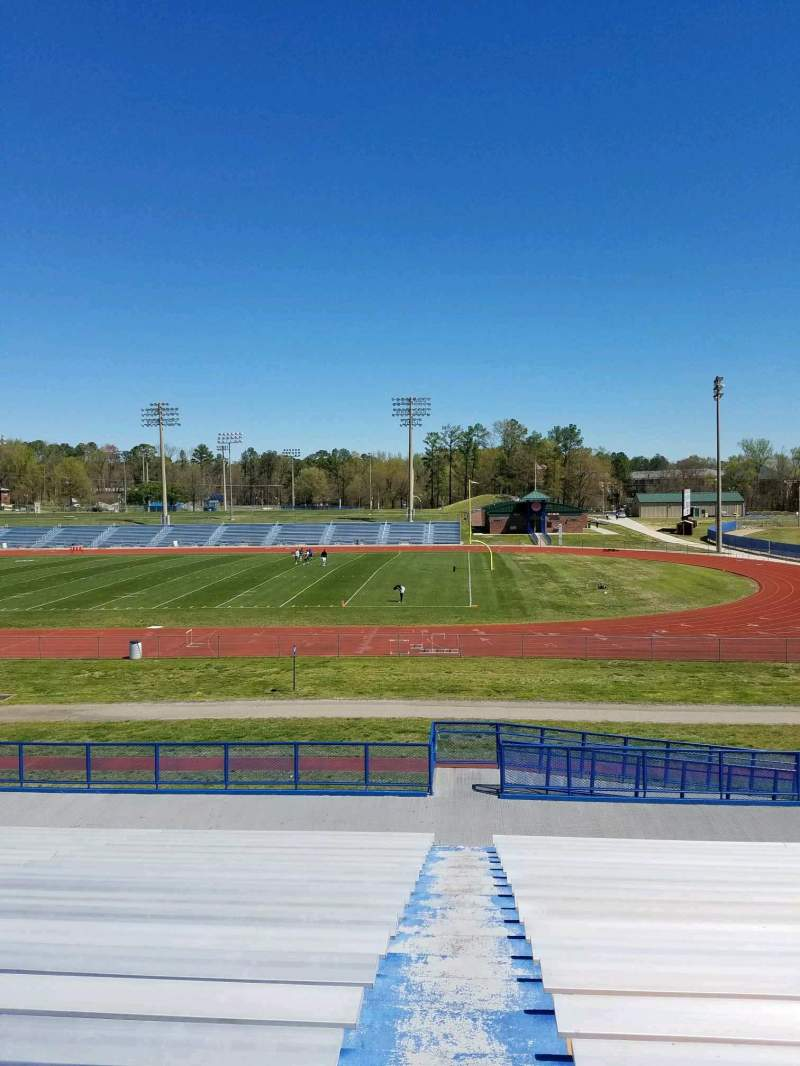 Seating view for Rogers Stadium Section 1 Row 19 Seat 1