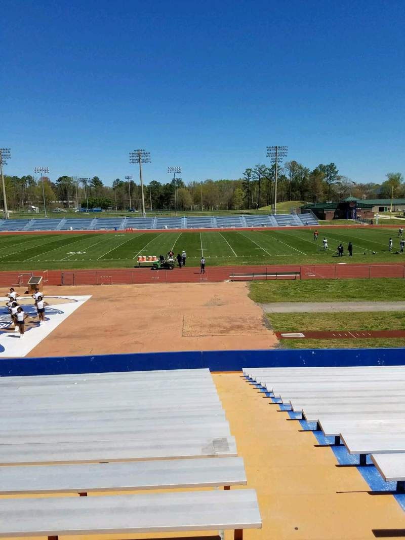 Seating view for Rogers Stadium Section 6 Row 16 Seat 1