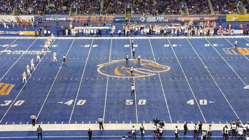 Seating view for Albertsons Stadium Section 108 Row X Seat 22