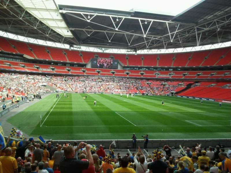 Seating view for Wembley Stadium Section 136 Row 16