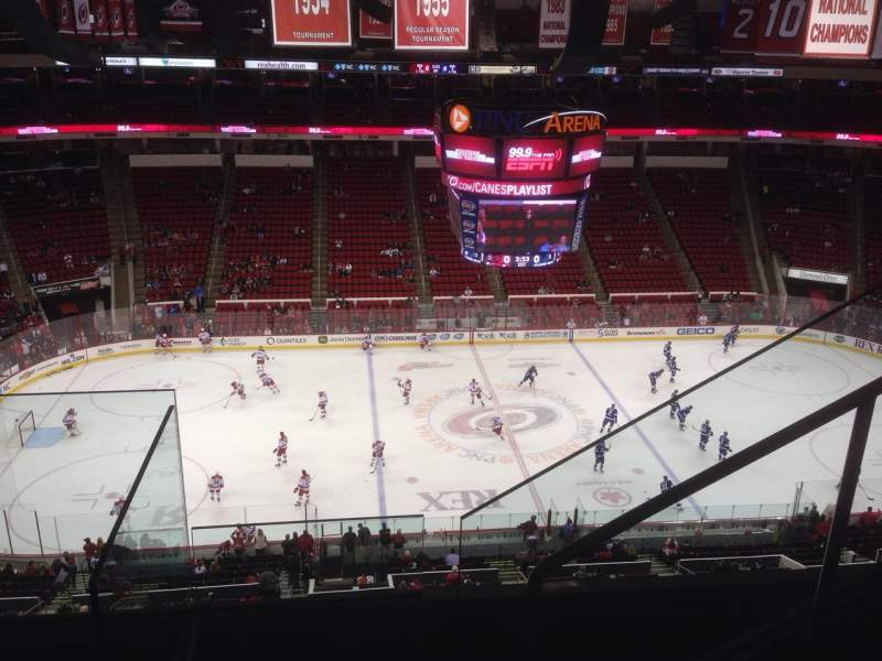 Seating view for PNC Arena Section 305 Row D Seat 4
