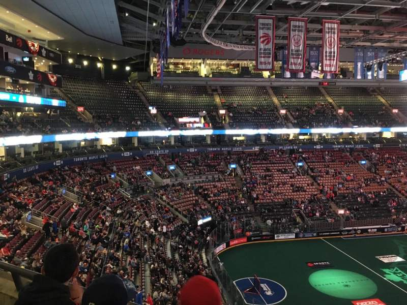 Scotiabank Arena, section: 312, row: 2, seat: 10