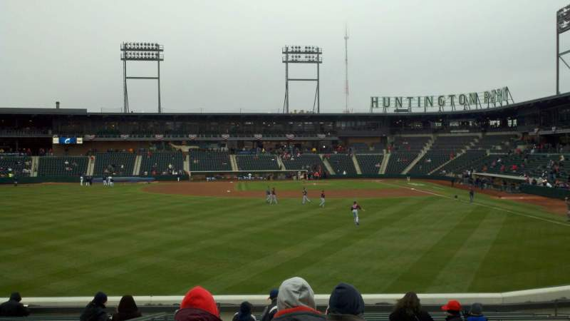 Seating view for Huntington Park Section 28 Row 7 Seat 11