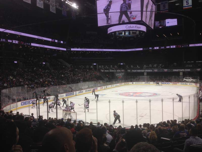 Seating view for Barclays Center Section 15 Row 16 Seat 1