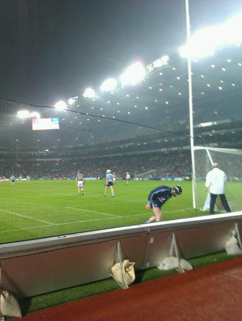 Seating view for Croke Park Section hill 16 Row front