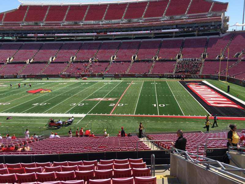 Seating view for Papa John's Cardinal Stadium Section 228 Row L Seat 105