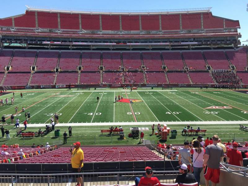 Seating view for Papa John's Cardinal Stadium Section 231 Row M Seat 7