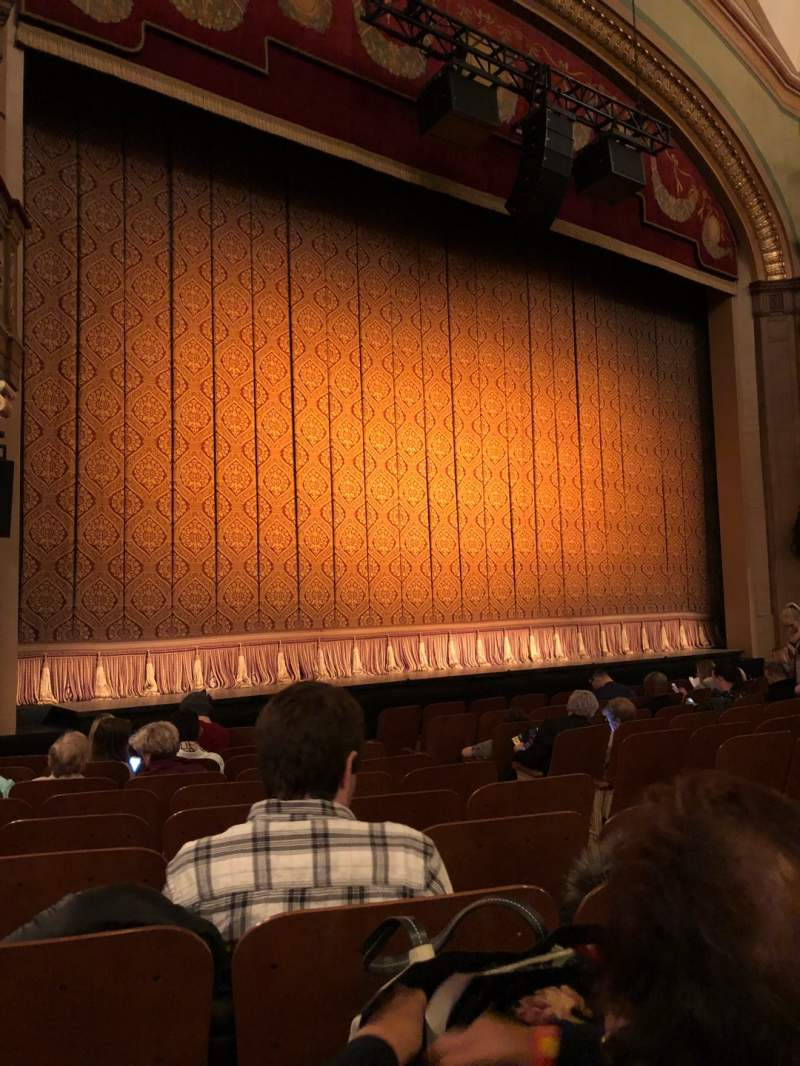 Seating view for Booth Theatre Section Orchestra L Row J Seat 7