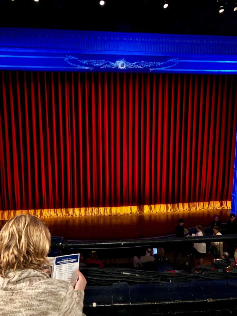 Seating view for Studio 54 Section Front Mezzanine C Row BB Seat 115