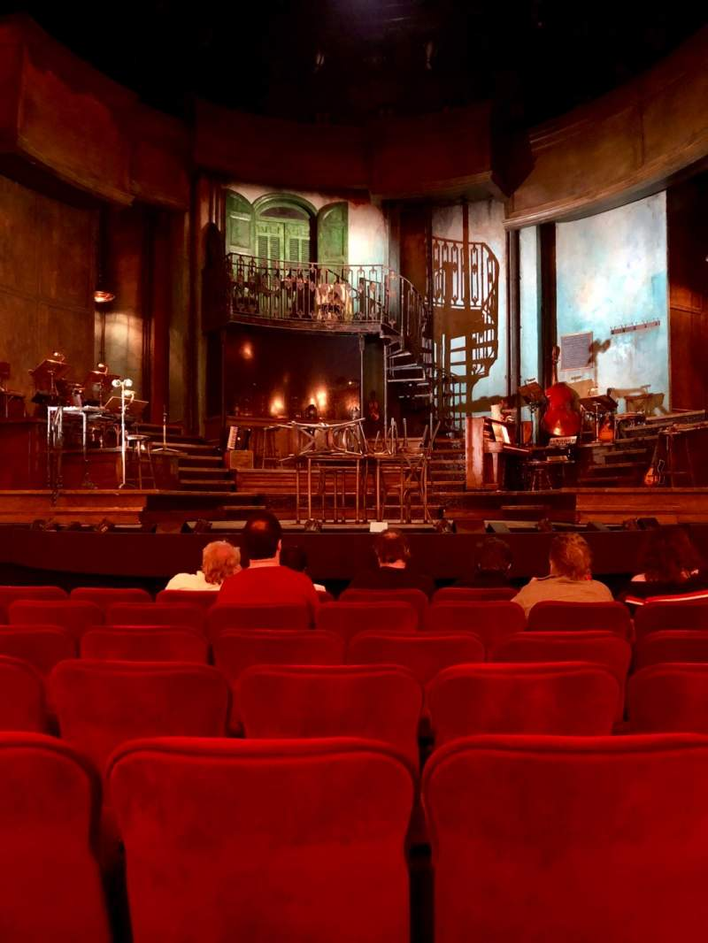Seating view for Walter Kerr Theatre Section Orchestra C Row J Seat 108