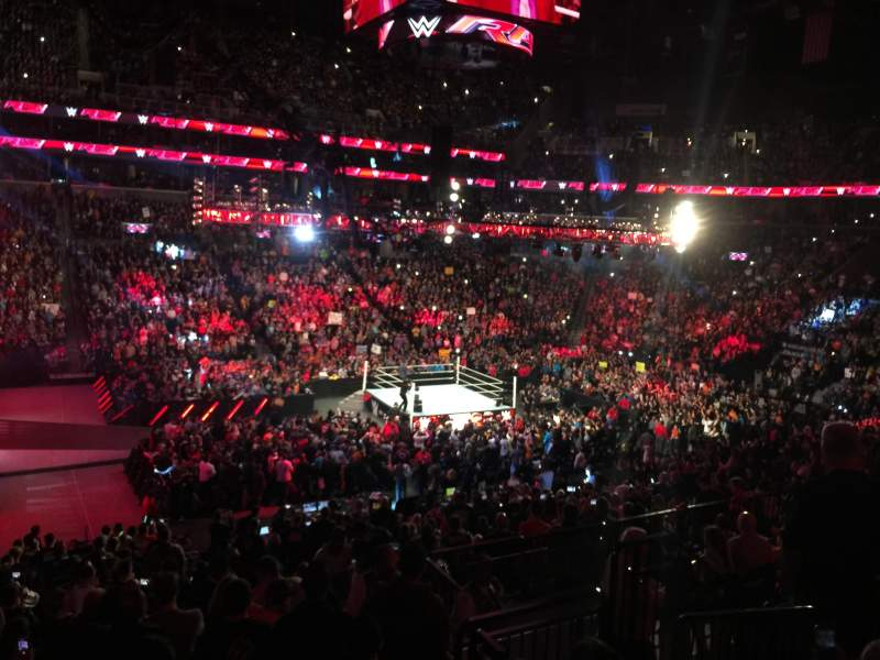 Barclays Center Section 126 Row 7 Seat 5 Wwe Monday