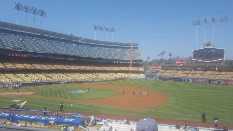 Seating view for Dodger Stadium Section 142LG Row c Seat 3