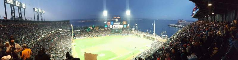 AT&T Park, section: vr314, row: 18, seat: 14