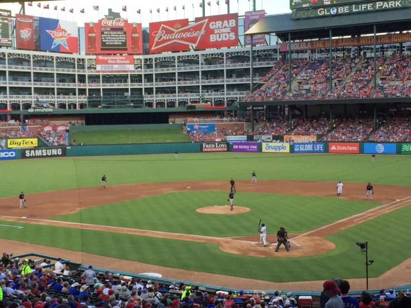 Globe Life Park in Arlington, section: 125, row: 37, seat: 2