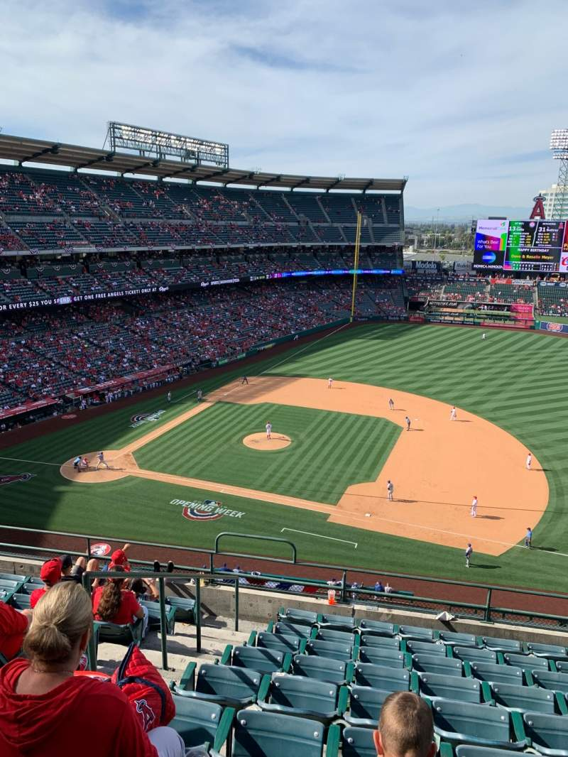 Seating view for Angel Stadium Section V426 Row I Seat 2