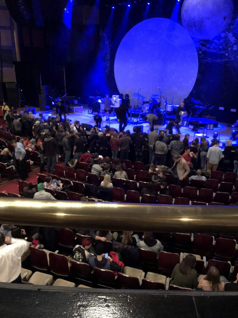 Seating view for Massey Hall Section RCB Row A Seat 83