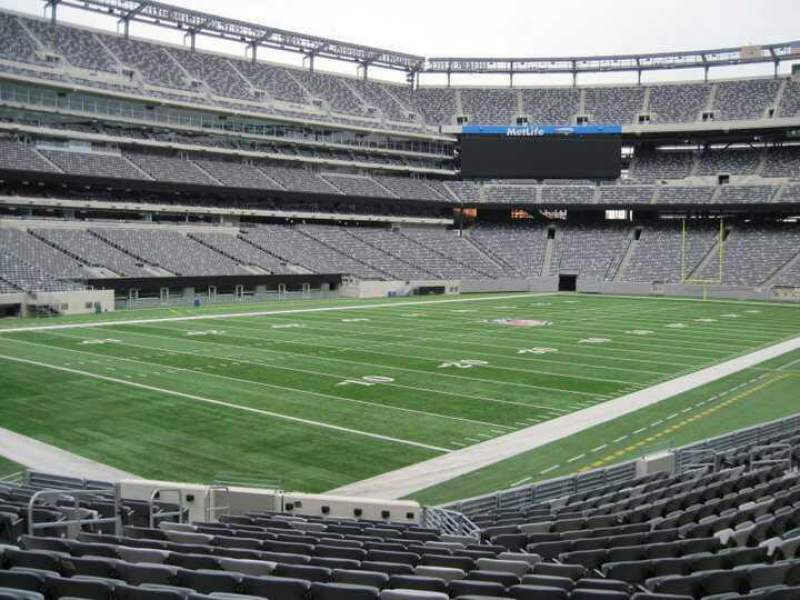 Seating view for MetLife Stadium Section 146 Row 18 Seat 12