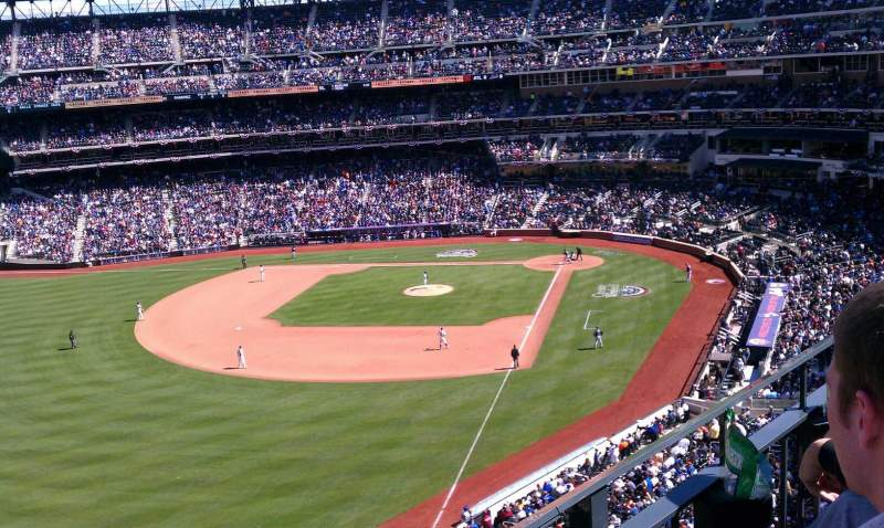 Seating view for Citi Field Section 429 Row 2 Seat 10
