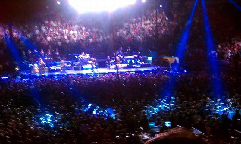 Madison Square Garden Section 101 Row 15 Seat 21 Bruce Springsteen The E Street Band Tour