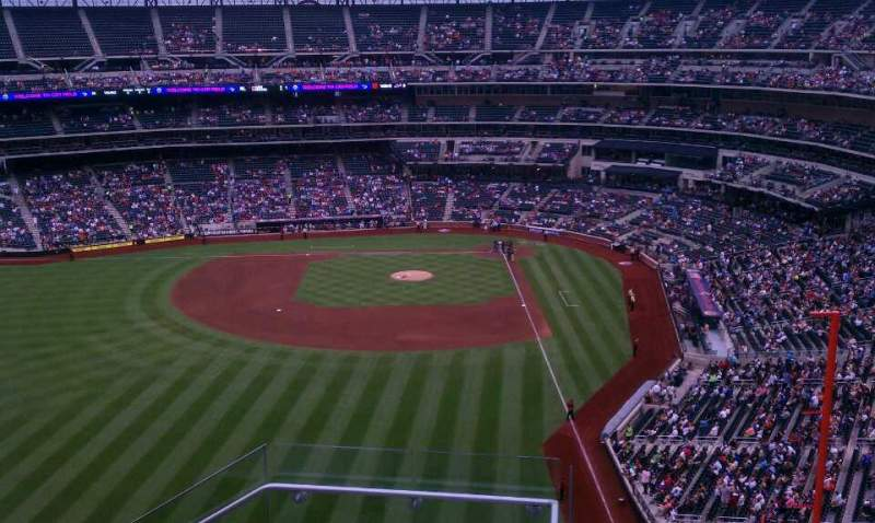 Seating view for Citi Field Section 533 Row 5 Seat 12