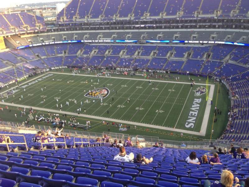 M&T Bank Stadium, section: 549, row: 28, seat: 19