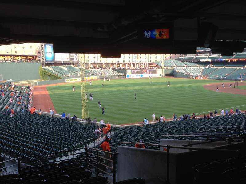 Seating view for Oriole Park at Camden Yards Section 71 Row 11 Seat 4