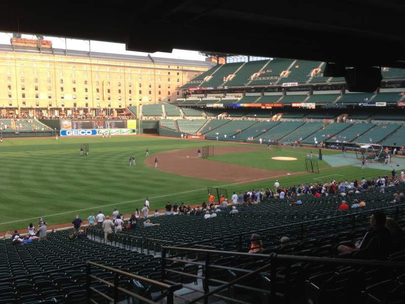 Seating view for Oriole Park at Camden Yards Section 65 Row 8 Seat 3