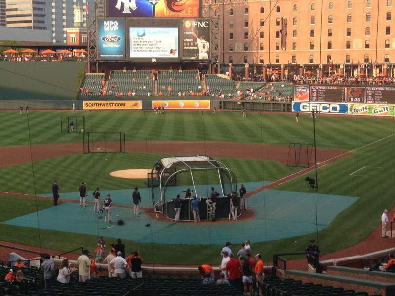 Seating view for Oriole Park at Camden Yards Section 39 Row 9 Seat 10