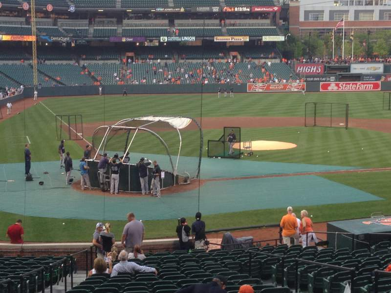 Seating view for Oriole Park at Camden Yards Section 30 Row 37 Seat 7